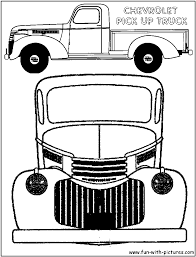 100 Truck Color Pages Ing Free Printable Colouring For Kids To