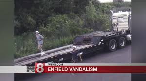 PD: 2 Wanted For Vandalizing Truck Parts Supplier In Enfield