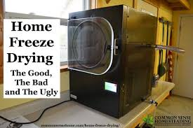 Home Freeze Drying The Good The Bad and The Ugly