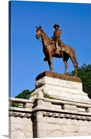 The Ulysses S Grant Statue Atop Memorial At Lincoln Park Chicago