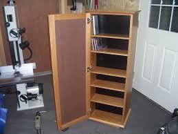 cd dvd storage cabinet by lenny lumberjocks com woodworking