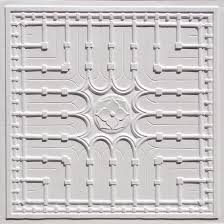 decorative drop in grid suspended ceiling tile 301 white pearl 80
