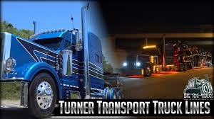 100 Brown Line Trucking Turner Transport Truck S Rolling CB Interview YouTube