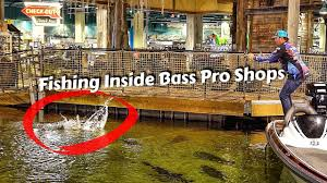 Caught A Bass Inside Bass Pro Shops Pyramid (Ft. Bill Dance) - YouTube