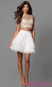 little white dresses white party dresses promgirl