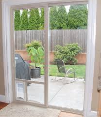 Sliding Door With Blinds In The Glass by Best Dog Door For Sliding Glass Doors In Utah Adv Windows