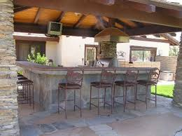 Cheap Patio Bar Ideas by Outdoor Kitchen Ideas Hometutu Com