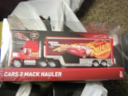 100 Mack Truck Hauler Disney Pixar Cars 3 Mattel Walmart Exclusve EBay
