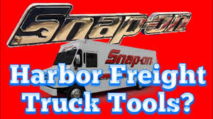 99 Truck Tools Snap On Sells Harbor Freight Really YouTube