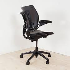Humanscale Freedom Task Chair Uk by Freedom Operator Chair Black Leather Leather Ergonomic Chair
