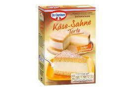 dr oetker backmischung käse sahne torte 385g