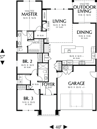 Craftsman Style Floor Plans Bungalow by 510 Best House Plans Images On Pinterest Architecture Home