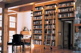 A Special Built In Window Seat Is Surrounded By Bookcases The Large Frames This Bringing Outside