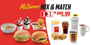 McDonald's McSavers Mix & Match RM5.99 All Day Except 4AM ... Mcdonalds Card Reload Northern Tool Coupons Printable 2018 On Freecharge Sony Vaio Coupon Codes F Mcdonalds Uae Deals Offers October 2019 Dubaisaverscom Offers Coupons Buy 1 Get Burger Free Oct Mcdelivery Code Malaysia Slim Jim Im Lovin It Malaysia Mcchicken For Only Rm1 Their Promotion Unlimited Delivery Facebook Monopoly Printable Hot 50 Off Promo Its Back Free Breakfast Or Regular Menu Sandwich When You