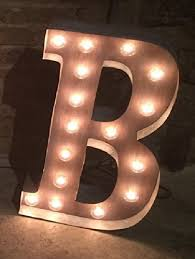 baby marquee light up letter sign custom a z light