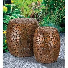 Copper Garden Stools You ll Love