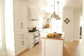 emtek cabinet hardware kitchen farmhouse with butcher block hall