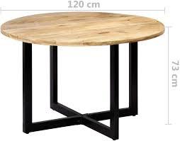 rund tischplatte holztisch esszimmer massivholztisch