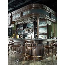 Zuo Modern Red Brody Bar Chair HappyHomeBarscom