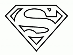Superman Logo Coloring Pages Az Inside Stylish Along With Lovely Page