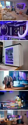 Triple Monitor Battlestation Via Reddit User Ljohnson72 Nice Modern Eames Inspired Setup