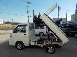 100 Hijet Mini Truck Arriving Soon 2009 Daihatsu HiJet Scissors Lift Dump Bed Diff Lock