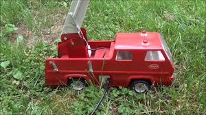 Tonka 1970's Snorkel Fire Truck Flowing Water 5-23-13 - YouTube Tonka 1964 Fire Truck Hydrant 100 Original Patina One Owner Nice Vintage 1955 Tonka No 950 6 Suburban Pumper Fire Truck With Fire Truck On Shoppinder Metal Firetruck Vintage Articulated Toy Superior Auction 5 Water 1908254263 Suburban 1963 Paint Real Dept Hose Ladder Tfd A Sliding Ladder Vintage Toys Hydrant Wwwtopsimagescom Toys 1972 Aerial Photo Charlie R Claywell