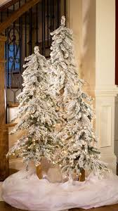 Hayneedle Flocked Christmas Trees by Snow Flocked Christmas Tree Photo Albums Fabulous Homes Interior