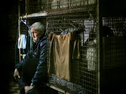 100 Hong Kong Apt S Poor Live In Stacked Metal Cages CBS News