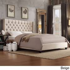 Raymour And Flanigan Bed Headboards by Signal Hills Naples Wingback Button Tufted Upholstered Products