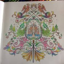 Another Page From Johanna Basfords Enchanted Forest Coloring Book Color Otherpw