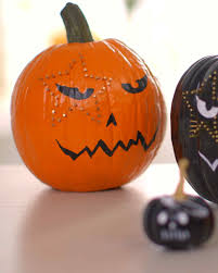Halloween Pictures For Pumpkins by Carve By Color Pumpkins Martha Stewart