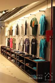 Simple Wall Mounted Clothing Racks