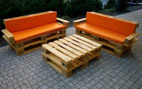 Plans For Yard Furniture by Wood Pallet Patio Furniture Plans Recycled Things