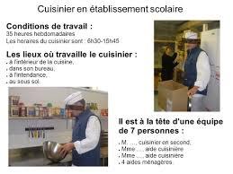 dp3 cuisinier en établissement scolaire je nourris les élèves et