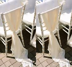 2019 Romantic Flowy Wedding Chair Sashes Wide And Long 30D Chiffon Chiavari  Chair Covers Custom Made Cream Ivory White 200*65 CM From Yoursexy_cute, ... Hot Sale White Ivory Polyesterspandex Wedding Banquet Hotel Chair Cover With Cross Band Buy Coverbanquet Coverivory Covers And Sashes Btwishesukcom Us 3200 Lace Tutu Chiavari Cap Free Shipping Hood Ogranza Sash For Outdoor Weddgin Ansel Fniture Tags Brass Covers Stretch 50 Pcs Vidaxlcom Chair Covers In White Or Ivory Satin Featured Yt00613 White New Style Cheap Stretich Madrid Spandex Chair View Kaiqi Product Details From Ningbo Kaiqi Import About Whosale 50100x Satin Slipcovers Black 6912 30 Off100pcspack Whiteblackivory Spandex Bands Sashes For Party Event Decorationsin Home Wedding With Bows Peach Vs Linens Lots Of Pics Indoor Chairs Beautiful And