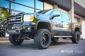 GMC Sierra With 20in Fuel Krank Wheels Exclusively From Butler Tires ... Chevygmc Truck Wheels Cuevas Tires Gallery Socal Custom 2016 Gmc Sierra Denali Tire And Rims Part Ideas Gmc Ultimate Revealed Gm Authority 22x9 Chrome Style Set Of 4 22 Fit Cadillac 1500 Rim And Packages 2015 Used Slt Crew Cab 4x4 Premium Aftermarket Lifted Sota 99 Just Getting Started Performancetrucksnet Forums Lifted All Terrain 20x10 8point 35x12 Chevrolet For Chevy Trucks Fits
