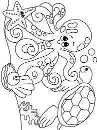 Online Coloring Pages For Toddlers Kindergarten Animals Color By Free