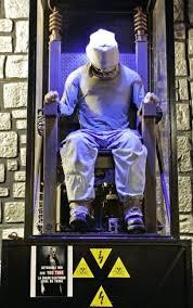 chaise lectrique la fausse chaise électrique interdite de fête foraine 26 08 2008