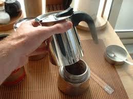 Assemble The Moka Pot Coffee Maker