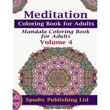 Meditation Coloring Book For Adults Mandala Volume 4