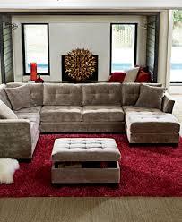 elliot fabric storage ottoman created for macy s furniture macy s