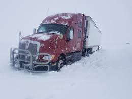 100 Trucks In Snow Blaine County Stranded After Ignoring Road Closed Sign