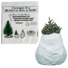 2pk Christmas Tree Skirt Removal Bag