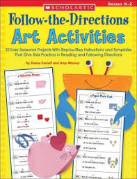 Follow The Directions Art Activities
