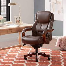La-Z-Boy Delano Big & Tall Executive Bonded Leather Office Chair - Chestnut  (Brown) Fniture Homewares Online In Australia Brosa Brilliant Costco Office Design For Home Winsome Depot Desks With Awesome Modern Style Computer Desk For Room Chair Max New Chairs Ofc Commercial Pertaing Squaretrade Protection Plans Guide How To Buy A Top 10 Modern Fniture Offer Professional And 20 Stylish And Comfortable Designs Ideas Are You Sitting Comfortably Choosing A Your