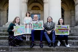 winners of the green schools ireland 2040 our plan poster