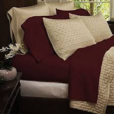 Amazon Bedding sets 4 Piece Bed Sheets Set Hotel fort 1800
