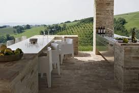 Modern Outdoor Living Kitchen Design Ideas