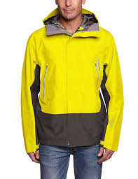 amazon com marmot spire jacket acid yellow slate grey m sports